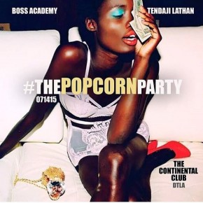 The Popcorn Party Tomorrow Tues. 7.14