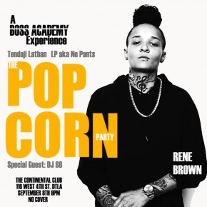 The Popcorn Party Tomorrow Tues. 9.8