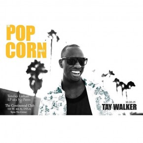 The Popcorn Party Tomorrow Tues. 10.20