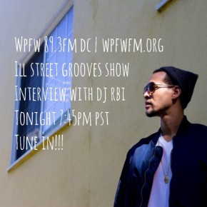 ILL Street Grooves Interview on WPFW 89.3FM DC