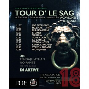 TOUR D' LE SAG THIS SUNDAY 12.18