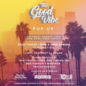 Hosting The Good Vibe 8.18