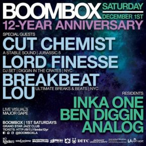 Boombox 12 Year Anniversary Party 12.1