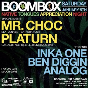 Boombox Native Tongues Appreciation Night 1.5
