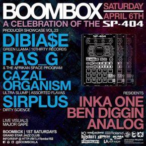 Hosting Boombox w/ Dibiase, Ras G, Cazal Organism & Sirplus 4.6