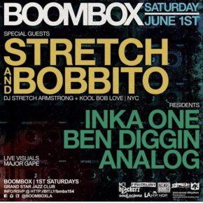 Boombox w/ Strecth & Bobbito 6.1