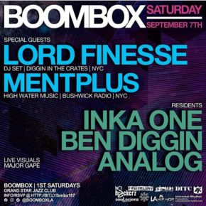 Boombox w/ Lord Finesse & Mentplus 9.7