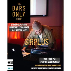 The Bars Only Radio Show w/ Sirplus 9.16