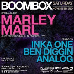 Boombox w/ Marley Marl 11.2