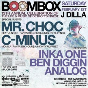 Boombox 13th Annual #Doinit4Dilla 2.1