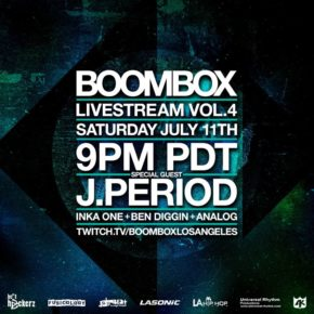 Boombox Livestream Vol. 4
