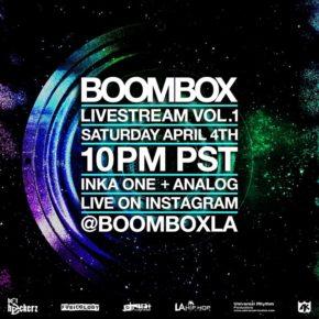 Boombox Livestream Vol. 1