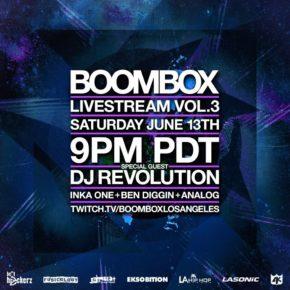 Boombox Livestream Vol. 3