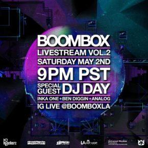 Boombox Livestream Vol. 2