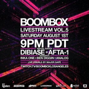 Boombox Livestream Vol. 5