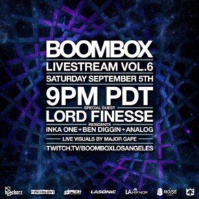 Boombox Livestream Vol. 6