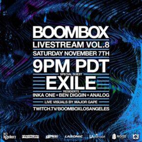 Boombox Livestream Vol. 8