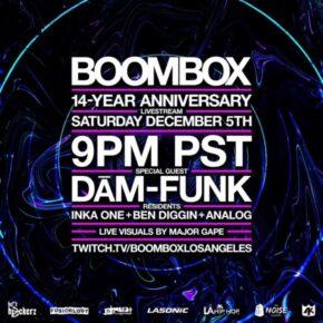 Boombox Livestream Vol. 9 - 14 Year Anniversary