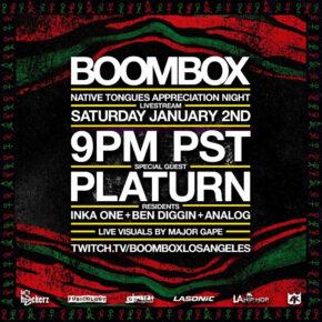 Boombox Livestream Vol. 10