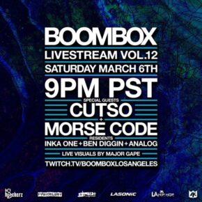 Boombox Livestream Vol. 12