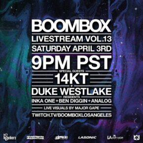 Boombox Livestream Vol. 13