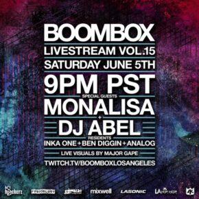 Boombox Livestream Vol. 15